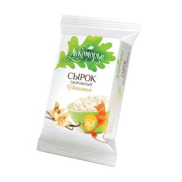 Сырок творожный Лукоморье ваниль 16,5%