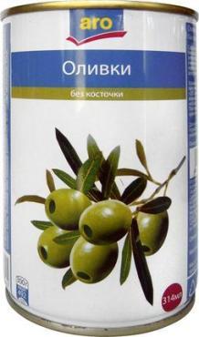 Оливки зеленые Aro без косточки