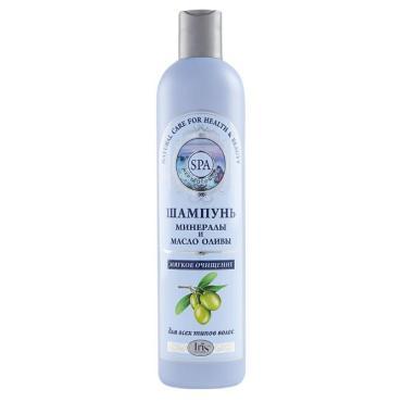 Шампунь для волос Iris Spa Минералы и масло оливы