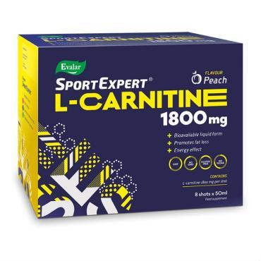 Витаминоподобное вещество яблоко SportExpert L-carnitine, 610 гр., картонная коробка