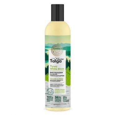 Био Бальзам освежающий для супер свежести и объема волос, Doctor Taiga Natura Siberica, 400 мл., пластиковая бутылка