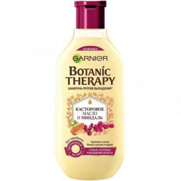 Шампунь Garnier Botanic Therapy касторовое масло и миндаль