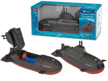 Подводная лодка Илья Муромец с мишенями и торпедами, Нордпласт, картонная коробка