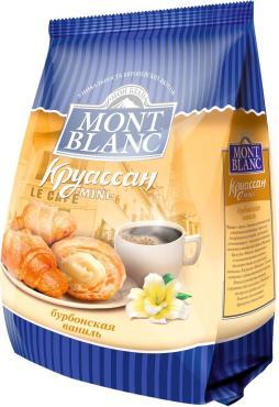 Круассаны мини Mont Blanc Бурбонская ваниль, 200 гр., флоу-пак