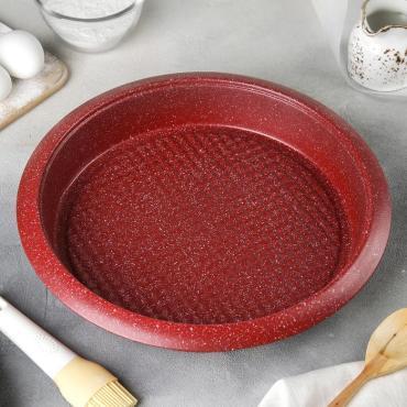 Форма для выпечки Доляна Клим 33 см. антипригарное покрытие