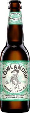 Пивной напиток светлый фильтрованный 3,8% Lowlander Grapefruit Pale Ale, 330 мл., стекло