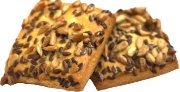 Печенье Столичный пекарь Мюсликейк с арахисом и кунжутом, 2 кг.