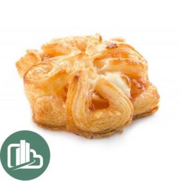 Слойка Столичный пекарь Мини Фиалка с творогом и абрикосом 2 кг