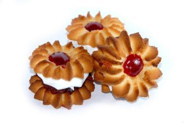 Печенье Империя вкуса Ромашка зефир