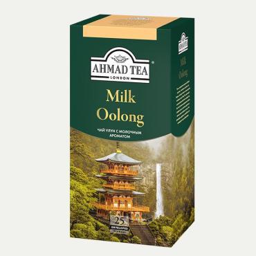 Чай зеленый Ahmad Tea Milk Oolong, 45 гр., картонная коробка