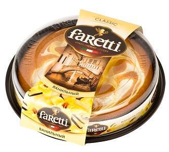 Торт Faretti ваниль итальянский десерт