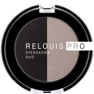 Тени для век Relouis Pro Eyeshadow Duo