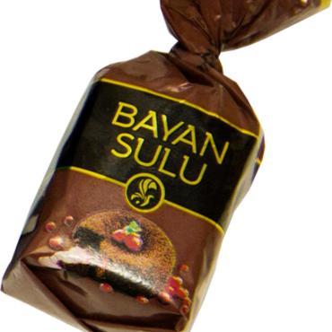 Конфеты Баян Сулу, Фондант, 1 кг., обертка фольга/бумага