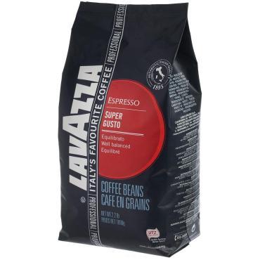 Кофе Lavazza Super Gusto UTZ в зернах 1 кг