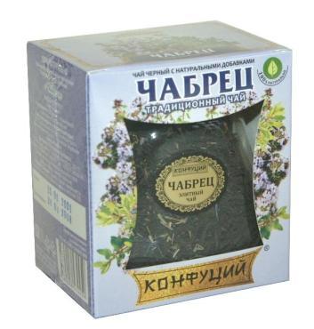 Чай Конфуций Чабрец черный 55 гр