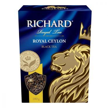 Чай Richard Royal Ceylon, черный листовой, 180 гр