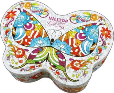 Чай Hilltop Бабочка Мозаика молочный оолонг