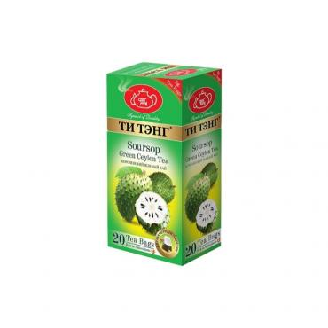Чай черный Ти тэнг Soursop 20 пакетов