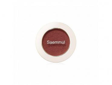 Тени для век The Saem  Saemmul Single Shadow мерцающие CR04 Splash Coral