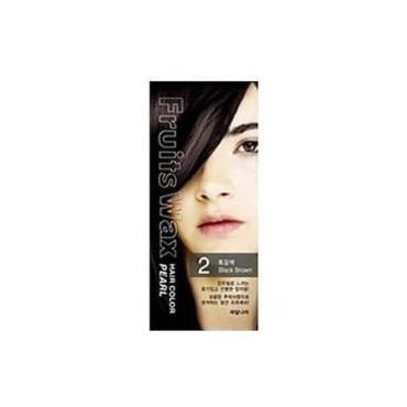 Краска для волос Welcos Fruits Wax Pearl Hair Color #02 на фруктовой основе