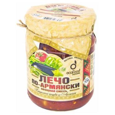 Лечо Ecofood По-Армянски