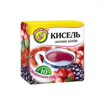 Кисель Лесная ягода Мастер Дак, 150 гр., м/уп
