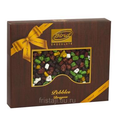 Шоколадное драже Гравий, Bind, 100 гр., картон