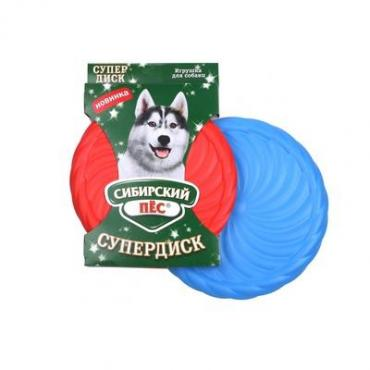 Игрушка для собак Сибирская кошка сибирский Пёс Супердиск, бумажная упаковка