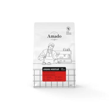 Кофе АРАБИКА молотый для чашки, 200 г