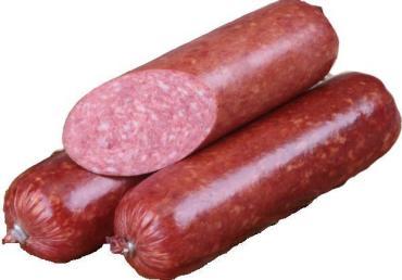 Колбаса варено-копченая фермерская сервелат Ромовый высший сорт, Сычниковское Подворье, 1 кг., оболочка Митлон