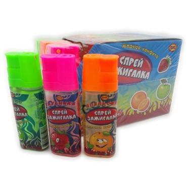 Жидкая конфета ВК Спрей зажигалка