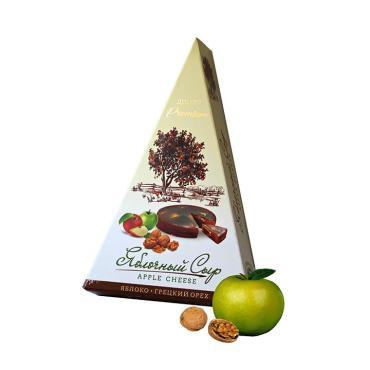 Сыр яблочный Десерт премиум с грецким орехом