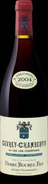 Вино 13% 2004 года сухое красное Alain Burguet Gevrey-Chambertin 1er Cru Champeaux АОС, Франция, 750 мл., стекло