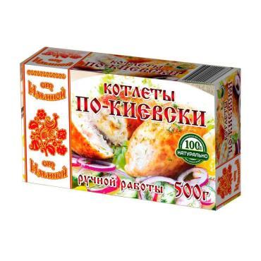 Котлеты по-киевски от Ильиной, 500 гр., картонная коробка