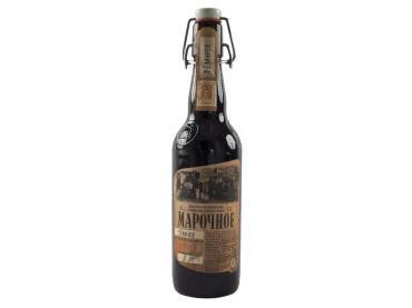 Пиво Афанасий Марочное темное 4,5%, 500 мл., стекло