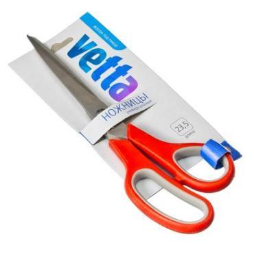 Ножницы универсальные премиум 23,5 см. Vetta, картонная упаковка