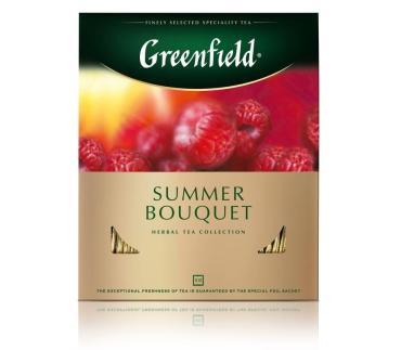 Чай Greenfield Summer Bouquet фруктовый 100 пак.