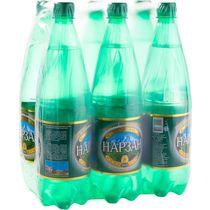 Вода минеральная газированная Нарзан лечебно-столовая 1 л.