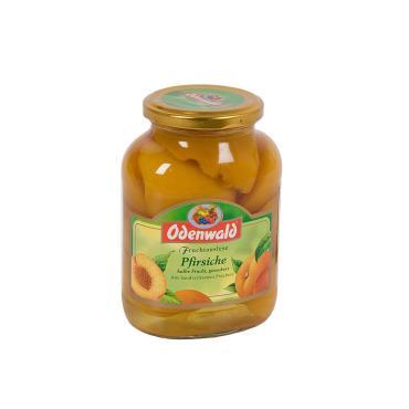 Персики Odenwald половинки в сиропе консервированные