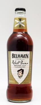 Пиво тёмное Belhaven Robert Burns Brown Ale фильтрованное пастеризованное 4,2% 0.5 л