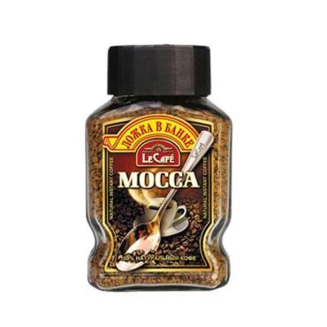 Кофе LeCafe Mocca растворимый + ложка в подарок