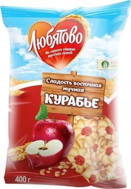 Печенье Курабье Любятово, 400 гр., Флоу-пак