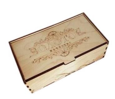 Масло Золотое качество ГОСТ в деревянной коробочке