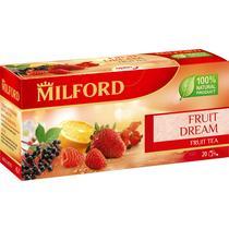 Чай Milford Fruit dream ароматизированный красный в пакетиках