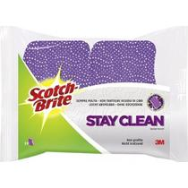 Губка Scotch-Brite Stay Clean для посуды с целлюлозным покрытием