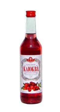 Напиток винный Чегемский Винпищепром Клюква с ароматом коньяка фруктовый полусладкий