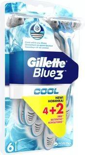 Бритвы Gillette Blue 3 Cool одноразовые 6 шт.
