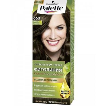 Краска для волос Palette Фитолиния 663 Пряный эспрессо