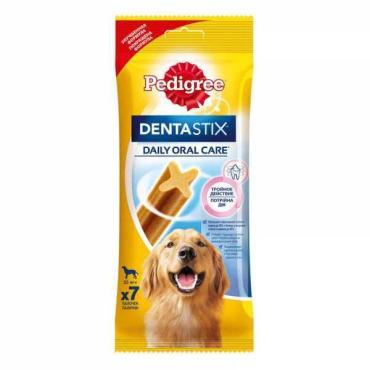 Лакомство Pedigree по уходу за зубами для крупных пород DentaStix