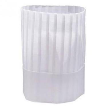 Колпак поварской Papstar одноразовый су-шефский прованс бумага белый Н230мм. 10шт.